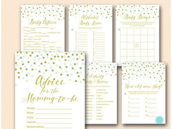 mint-gold-baby-shower-game-package-download-printable-tlc488-coed-baby-shower