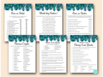 peacock-bridal-shower-games-package-deal