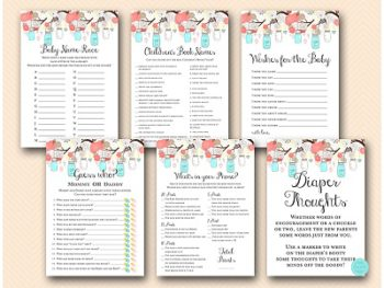 coral-aqua-baby-shower-game-package-activities-instant-download-printed-games