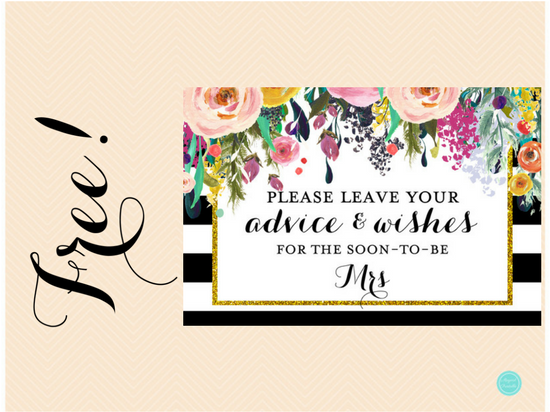 It is an image of Genius How Many Kisses for the Soon to Be Mrs Free Printable