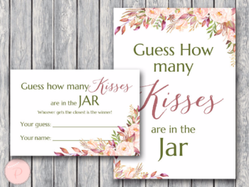 picture about Guess How Many in the Jar Printable referred to as Printable Bridal Shower Video games, Bachelorette, Hens Social gathering