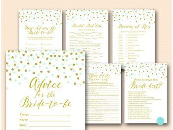 mint-gold-bridal-shower-game-package-download-printable