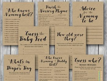 rustic-baby-shower-game-bundle-instant-download-on-sale