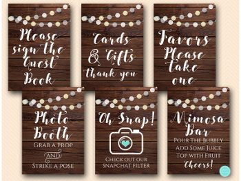 rustic-night-lights-bridal-shower-decor-table-signs