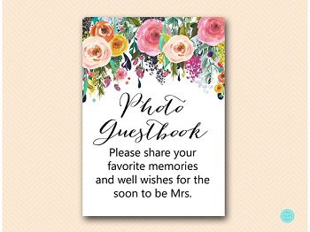 SN34-garden-photo-guestbook-5x7-USA-floral-bridal-shower-decoration-sign