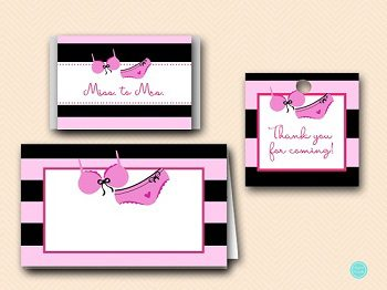 SN450 lingerie-bridal-shower-decoration-labels-tags-water-bottle