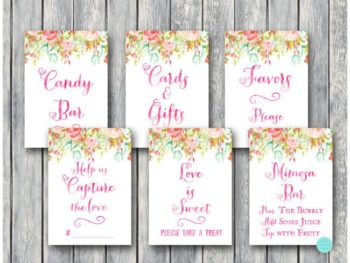 pretty-pink-bridal-shower-decoration-signs-650x488