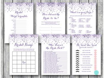 purple-glitter-bridal-shower-wedding-shower-games-package