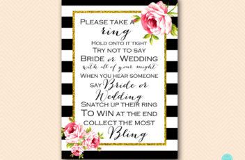 BS10B-dont-say-bride-or-wedding-black-stripes-floral-chic-bridal-shower-game