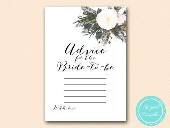 BS437-advice-for-bride-vintage-white-flower-bridal-shower-game