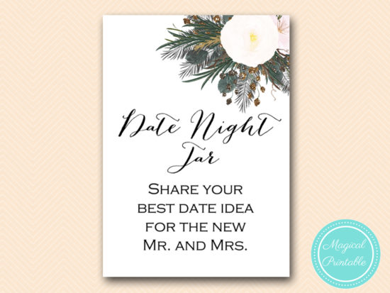 BS437-date-night-jar-share-ideas-sign-vintage-white-flower-bridal-shower-game