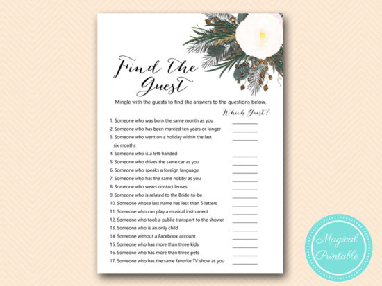 BS437-find-the-guest-vintage-white-flower-bridal-shower-game-gothic