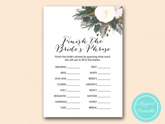 BS437-finish-brides-phrase-vintage-white-flower-bridal-shower-game