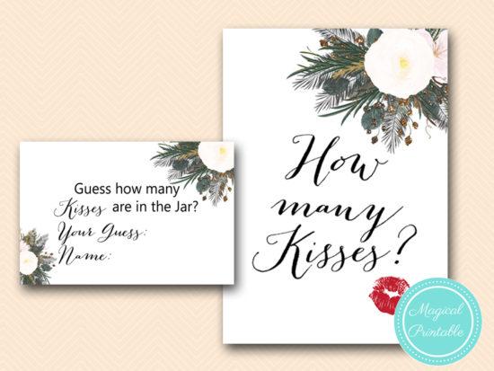 BS437-how-many-kisses-lips-card-vintage-white-flower-bridal-shower-game