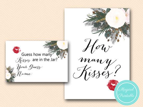 BS437-how-many-kisses-sign-vintage-white-flower-bridal-shower-game