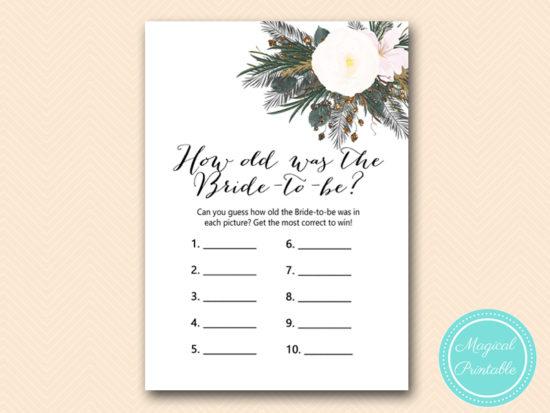 BS437-how-old-was-bride-vintage-white-flower-bridal-shower-game