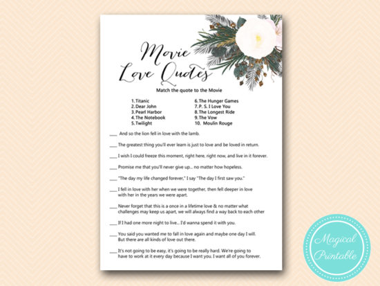 BS437-movie-love-quotes-vintage-white-flower-bridal-shower-game