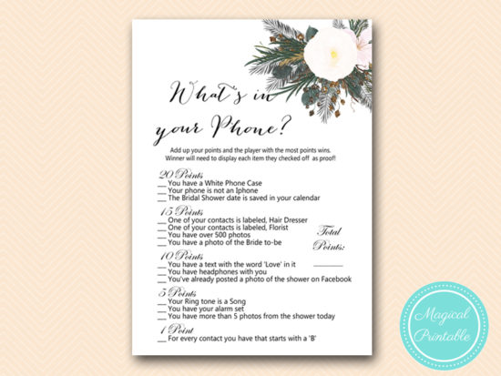 BS437-whats-in-your-phone-vintage-white-flower-bridal-shower-game
