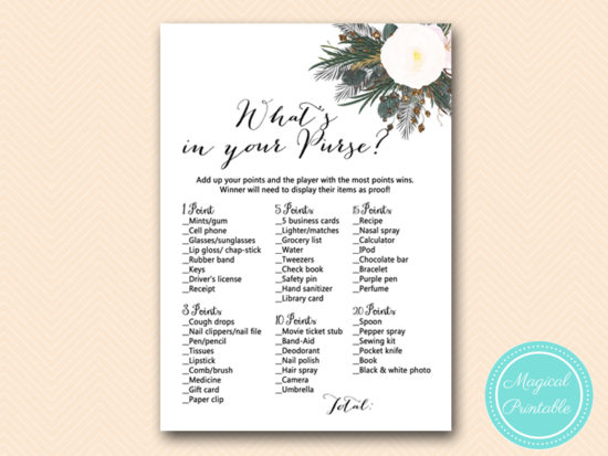 BS437-whats-in-your-purse-vintage-white-flower-bridal-shower-game