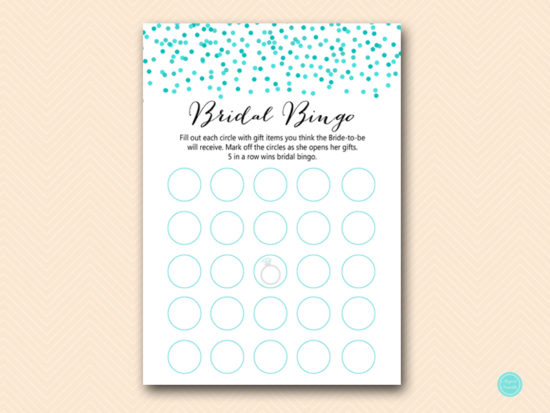 BS441-bingo-gift-items-tiffany-aqua-confetti-bridal-shower