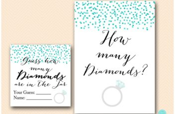 BS441-how-many-diamonds-cards-tiffany-bridal-shower-games