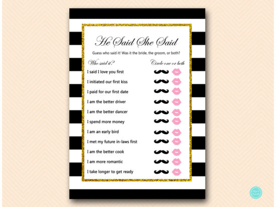 BS442-he-said-she-said-black-gold-bridal-shower-game