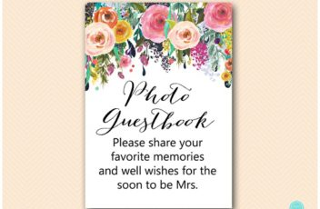 SN34-photo-guestbook-5x7-USA-floral-bridal-shower-decoration-sign