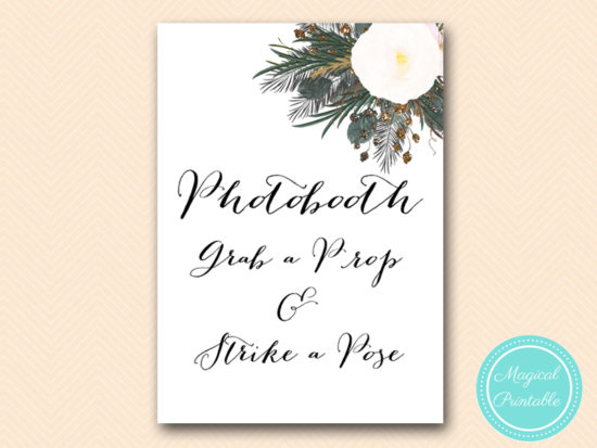 SN437-sign-photobooth-vintage-white-flower-bridal-shower-sign-wedding