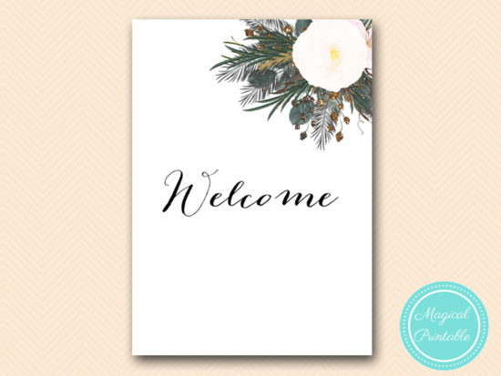 SN437-sign-welcome-vintage-white-flower-bridal-shower-sign-wedding