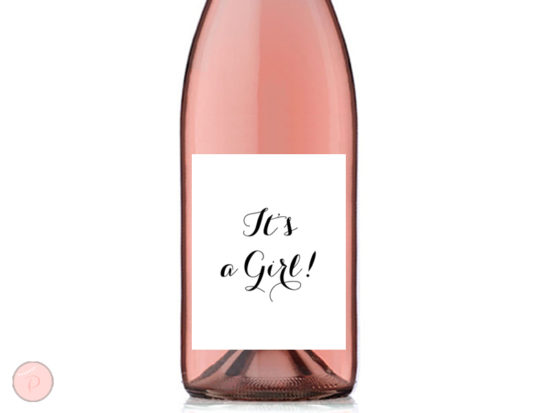 TG08 3-75x4-75 wine its a girl