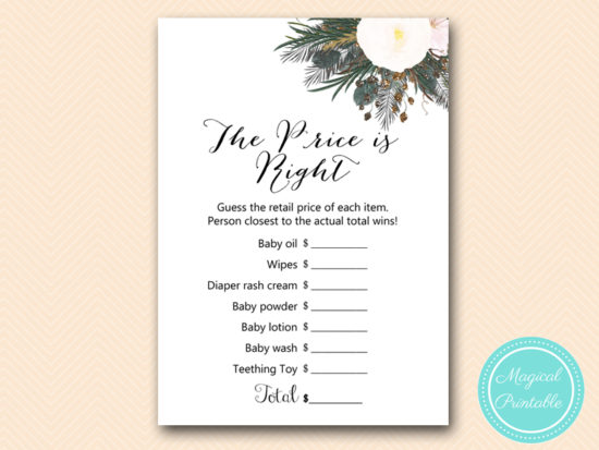 TLC437-price-is-right-vintage-white-flower-baby-shower-game