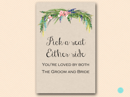 sign-pick-a-seat-not-a-site-wedding-hawaiian-tropical-spring