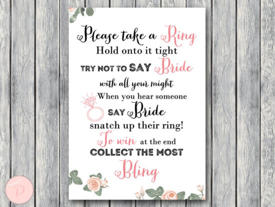 th03 Dont Say Bride Game, Dont Say a word Game, Take a Ring Game