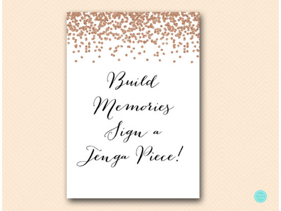 bs155-sign-build-memories-jenga-blocks-rose-gold-bridal-shower-decoration