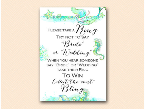 bs446-dont-say-bride-wedding-5x7-mermaid-brida-shower-game-beach