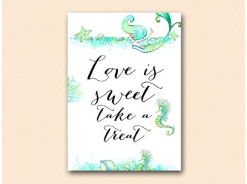 bs446-sign-love-is-sweet-mermaid-brida-shower-sign-beach