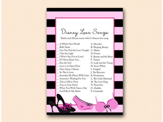 BS450-disney-love-songs-lingerie-bridal-shower-game