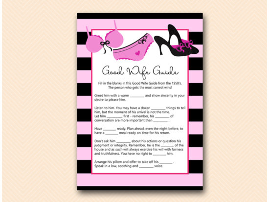 BS450-good-wife-guide-lingerie-bridal-shower-game