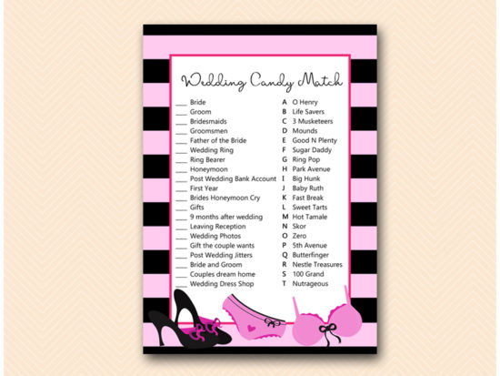 BS450-wedding-candy-match-lingerie-bridal-shower-game