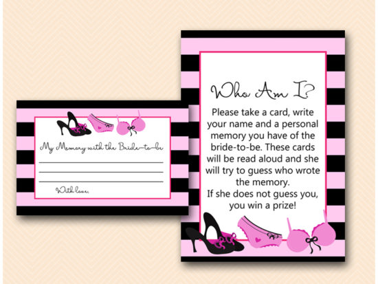 BS450-who-am-i-sign-memory-lingerie-bridal-shower-game