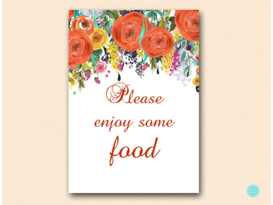 sn451-sign-food-enjoy-autumn-fall-in-love-bridal-shower-sign-baby