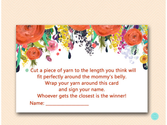 tlc451-how-big-is-mommys-belly-card-autumn-fall-baby-shower-game