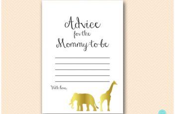tlc452-advice-mommy-to-be-gold-safari-jungle-animal