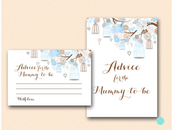 tlc456-advice-for-mummy-card-tweet-bird-blue-boy-baby-shower