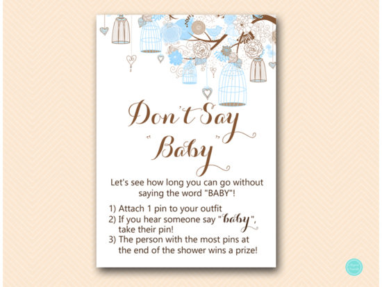 tlc456-dont-say-baby-pin-tweet-bird-blue-boy-baby-shower