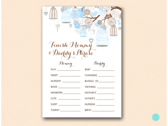 tlc456-finish-mommy-and-daddys-phrase-coed-tweet-bird-blue-boy-baby-shower