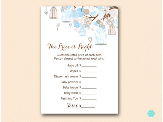 tlc456-price-is-right-baby-tweet-bird-blue-boy-baby-shower