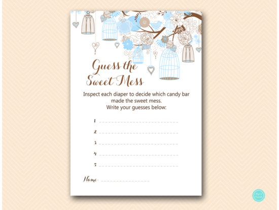 tlc456-sweet-mess-card-tweet-bird-blue-boy-baby-shower