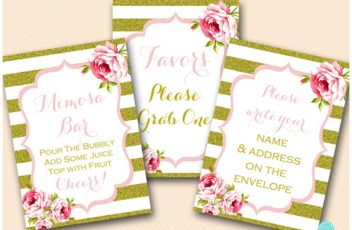 gold-pink-bridal-shower-decoraion-sign-mimosa-bar-favors