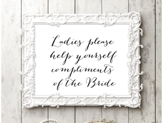 sn38-sign-ladies-help-yourself-chic-wedding-sign